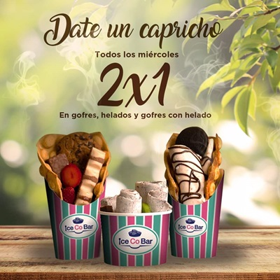 Icecobar 2x1 LUZ Shopping